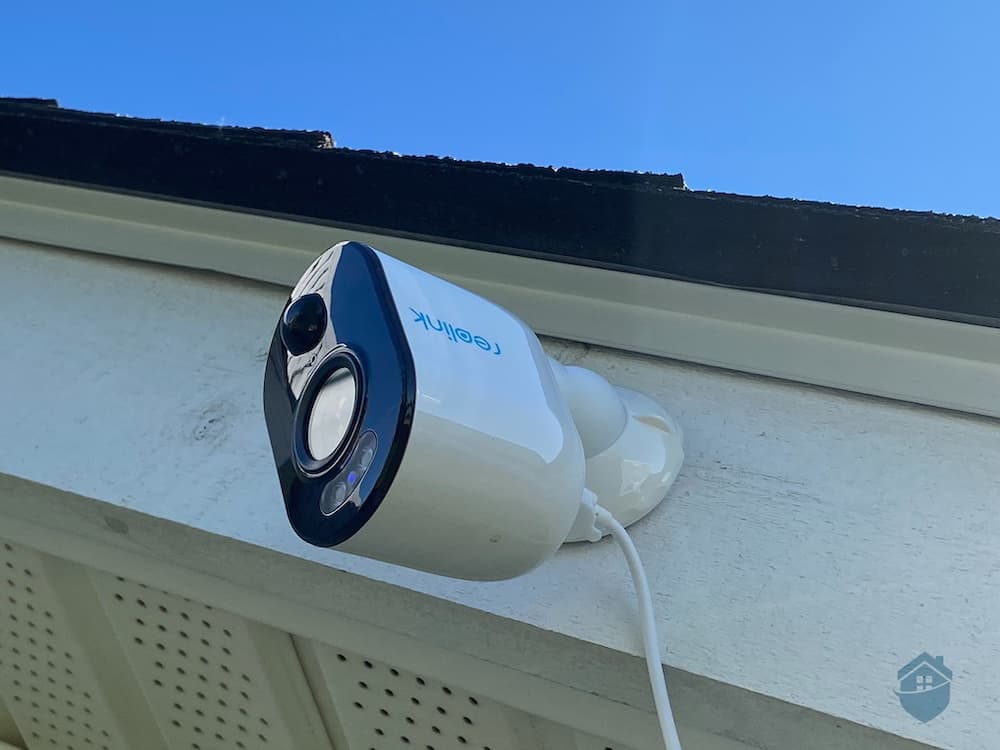 Reolink Argus 3 - Mounted On Roof