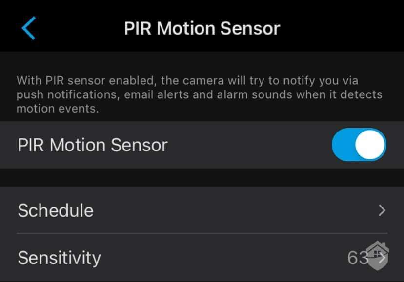 Reolink Argus 3 PIR Motion Sensor