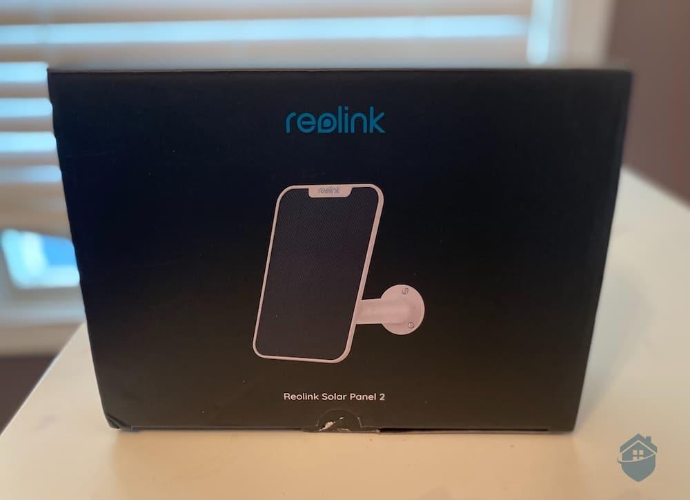 Reolink Solar Panel Packaging