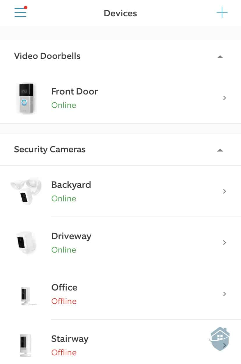Ring App Dashboard