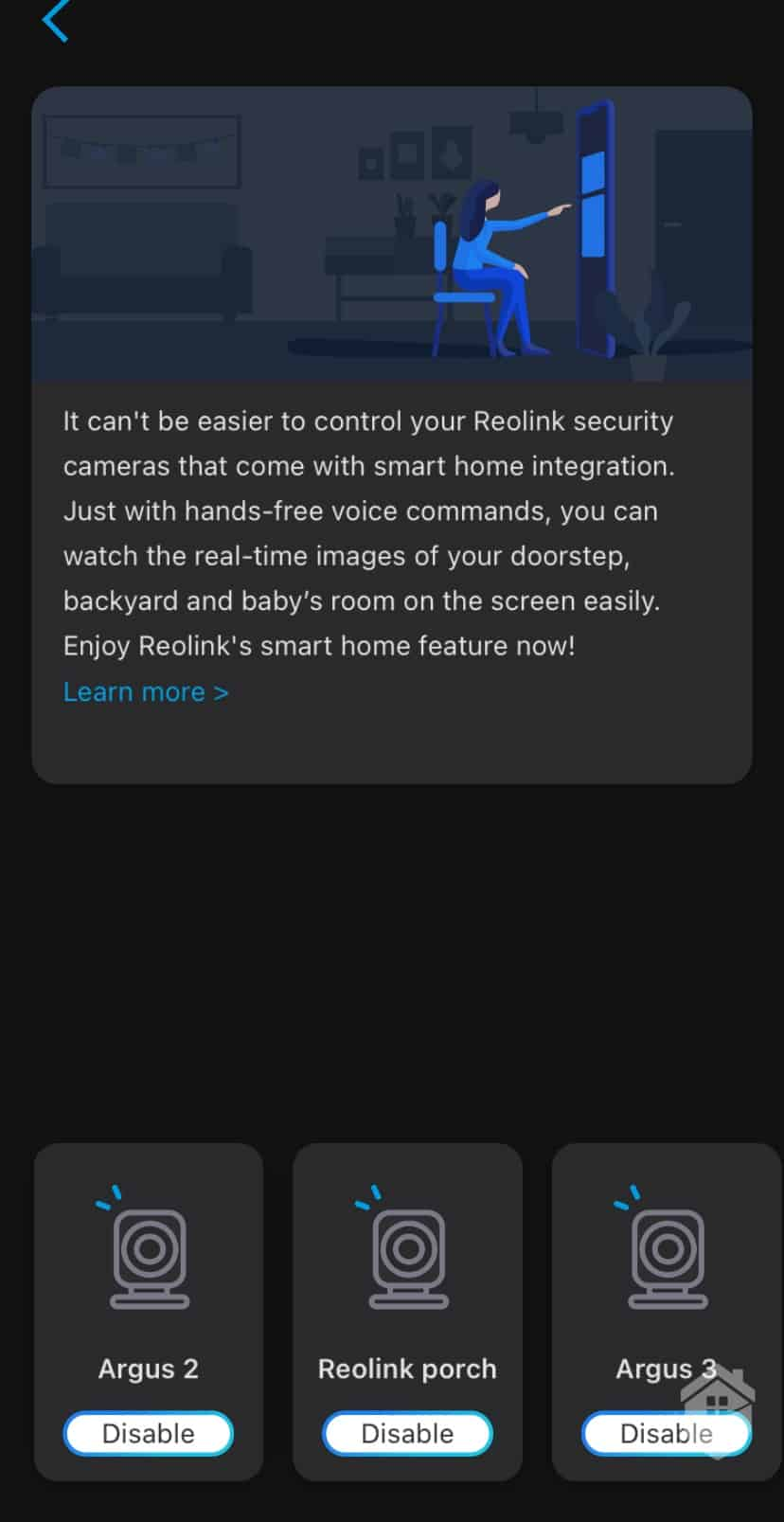 Syncing the Reolink Argus 3