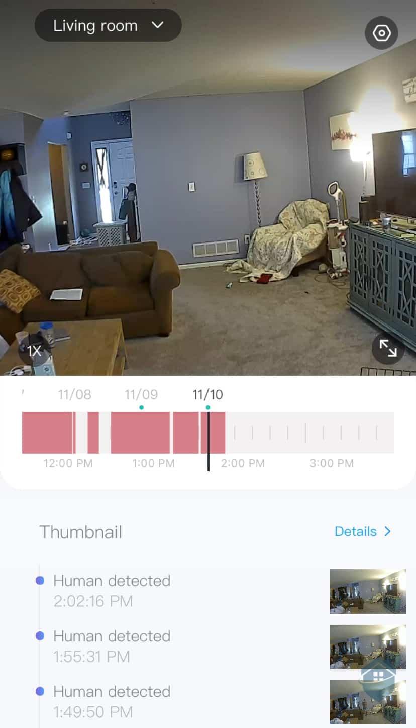 YI Camera Video