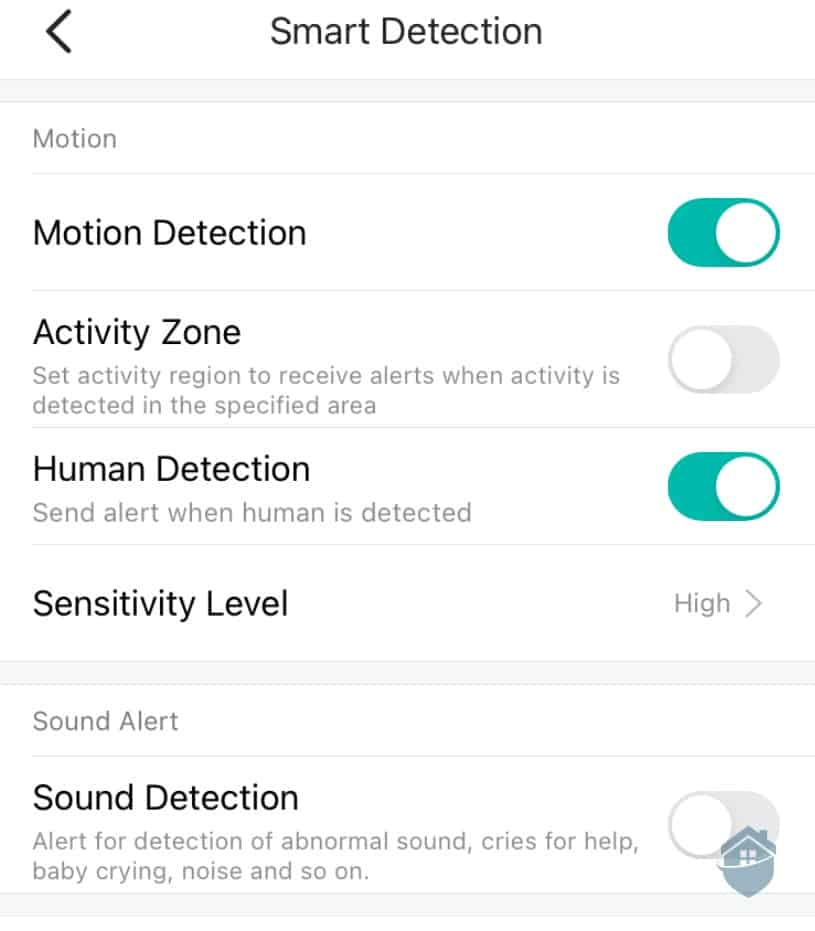 YI Smart Detection