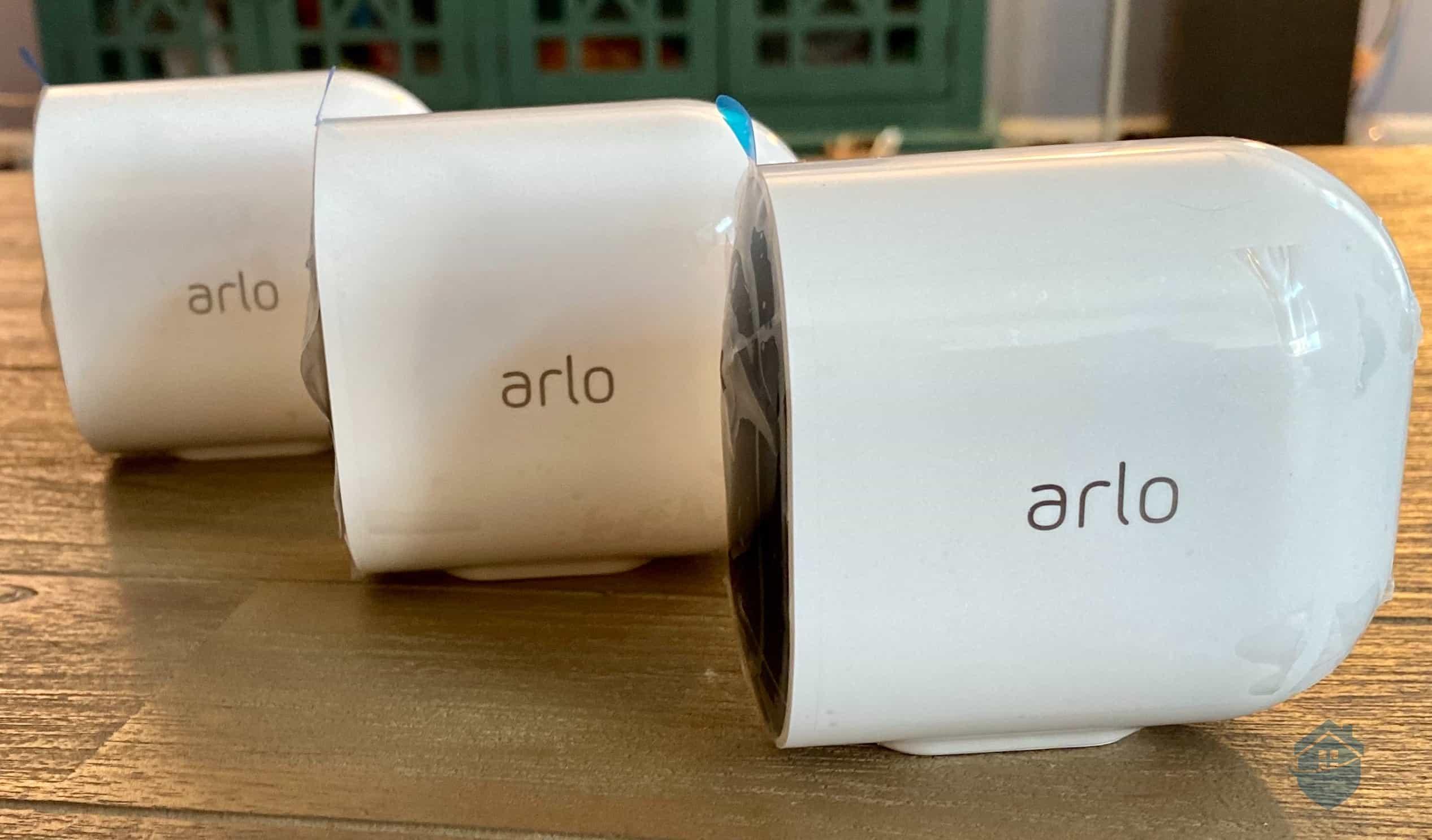 Arlo - 3 Cameras
