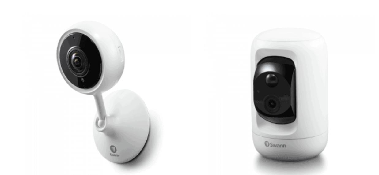 Swann Tracker camera and Pan & Tilt camera
