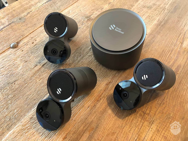Deep Sentinel Cameras and Hub