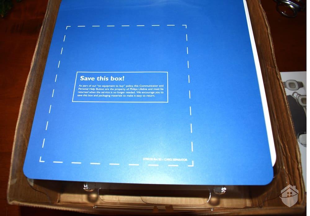 Inside the Philips Homesafe Box
