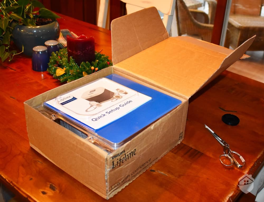 Philips Homesafe Packaging