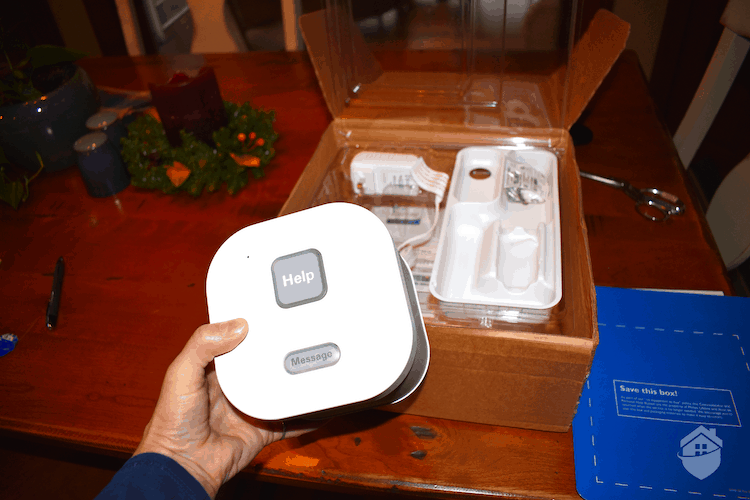 Unpacking Philips Lifeline HomeSafe