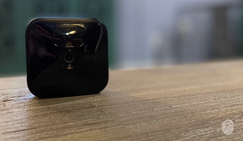 Closeup of the Blink Outdoor Camera