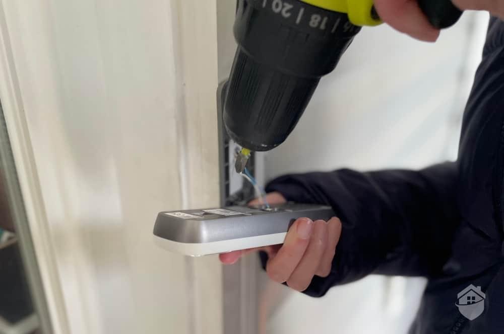 Installing the Lorex Doorbell Camera