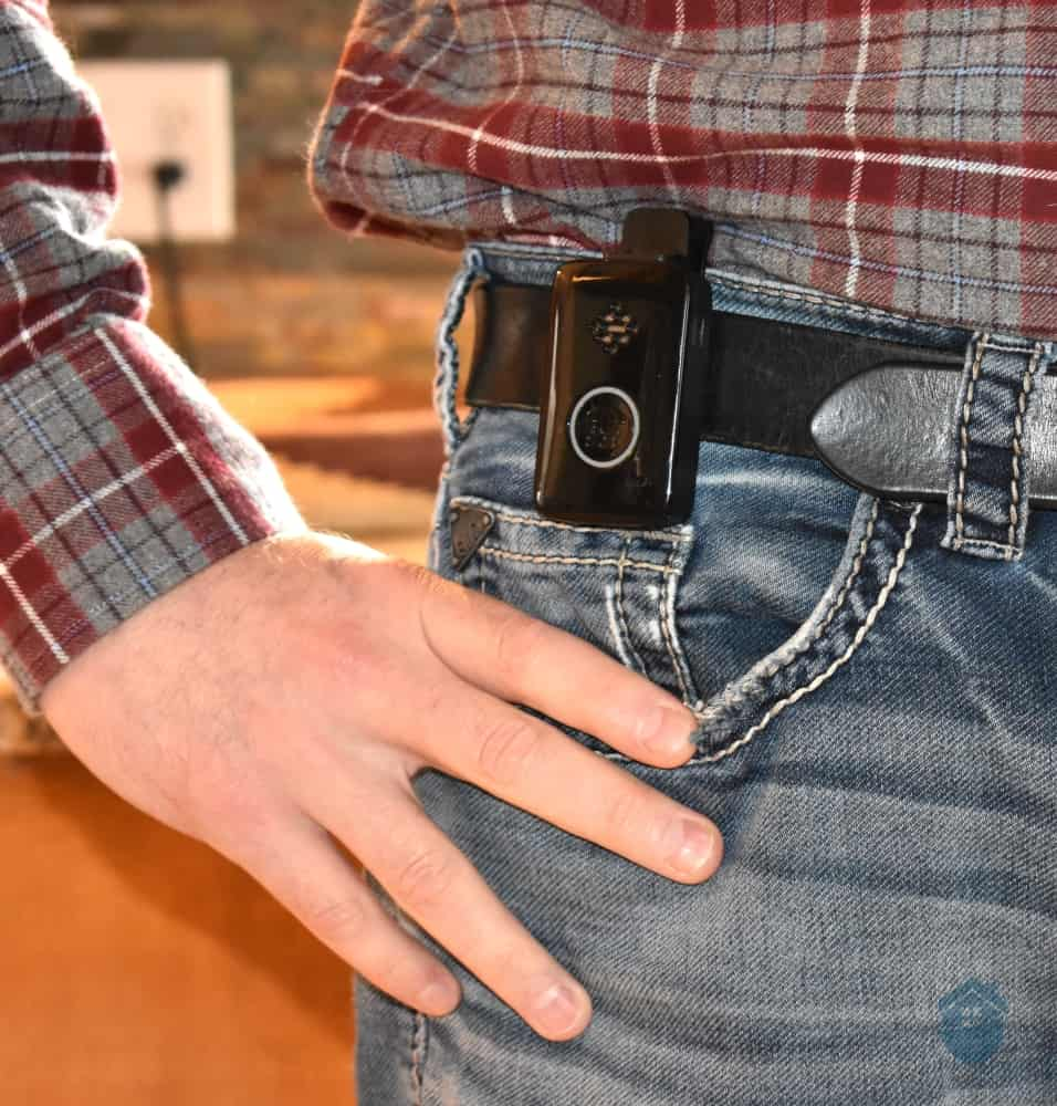LifeFone on Belt
