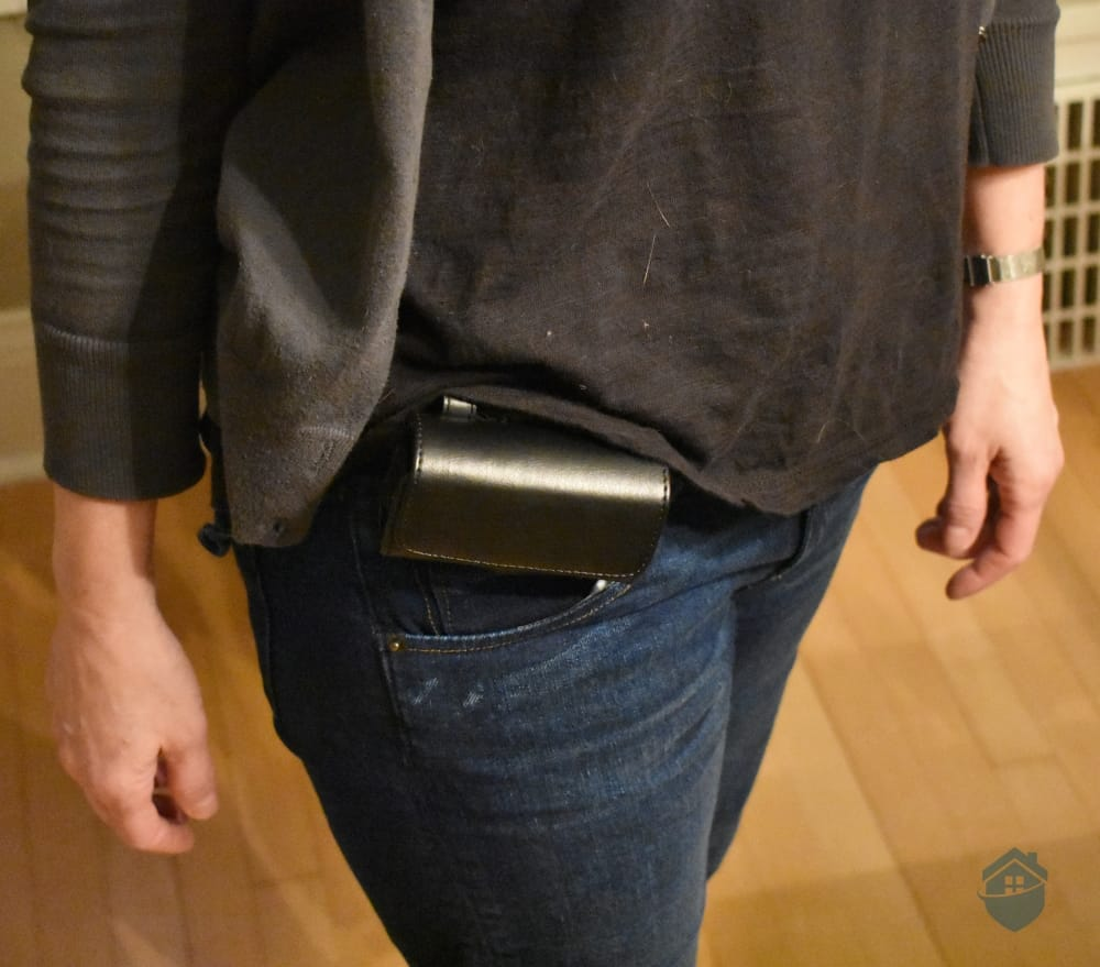 Mobile Guardian attached to belt