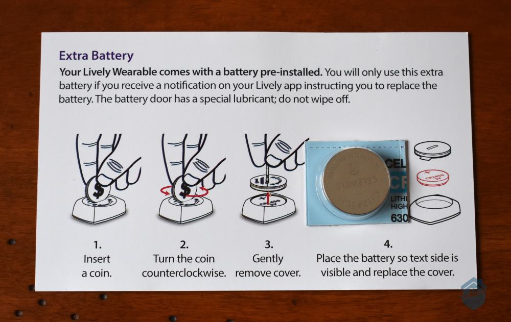GreatCall - Extra Watch Battery