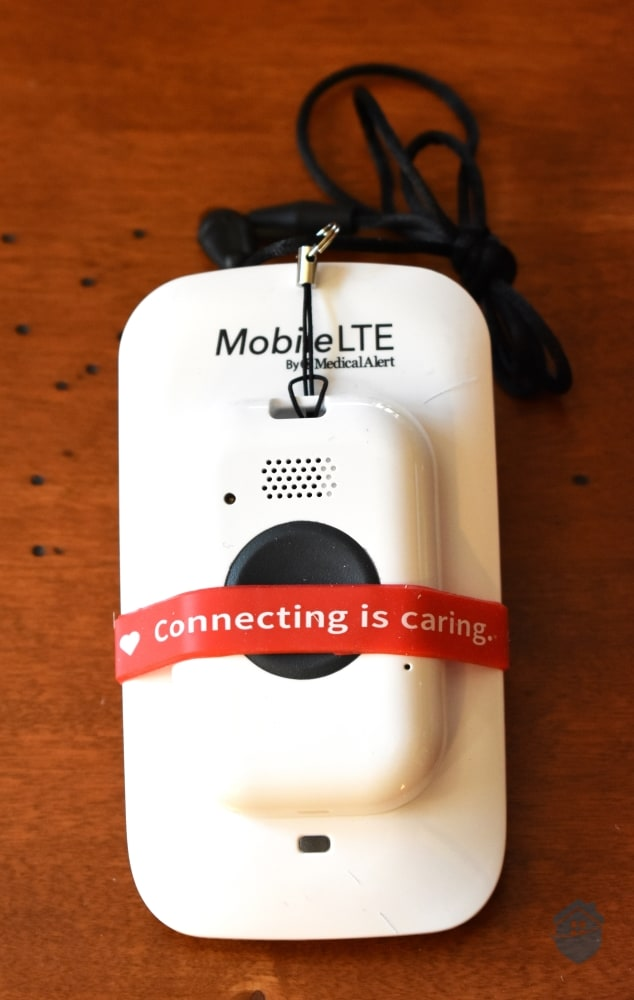 Medical Alert On-The-Go Device