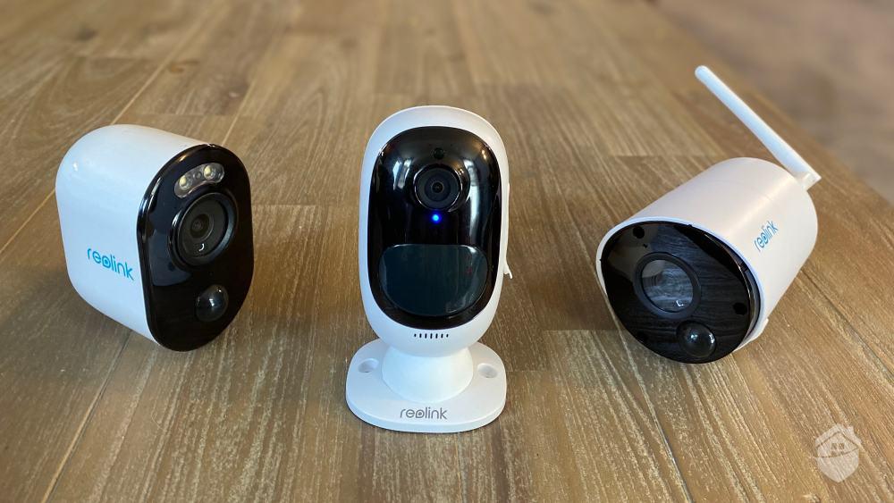 Reolink Argus 3, Argus 2, and Argus Eco cameras