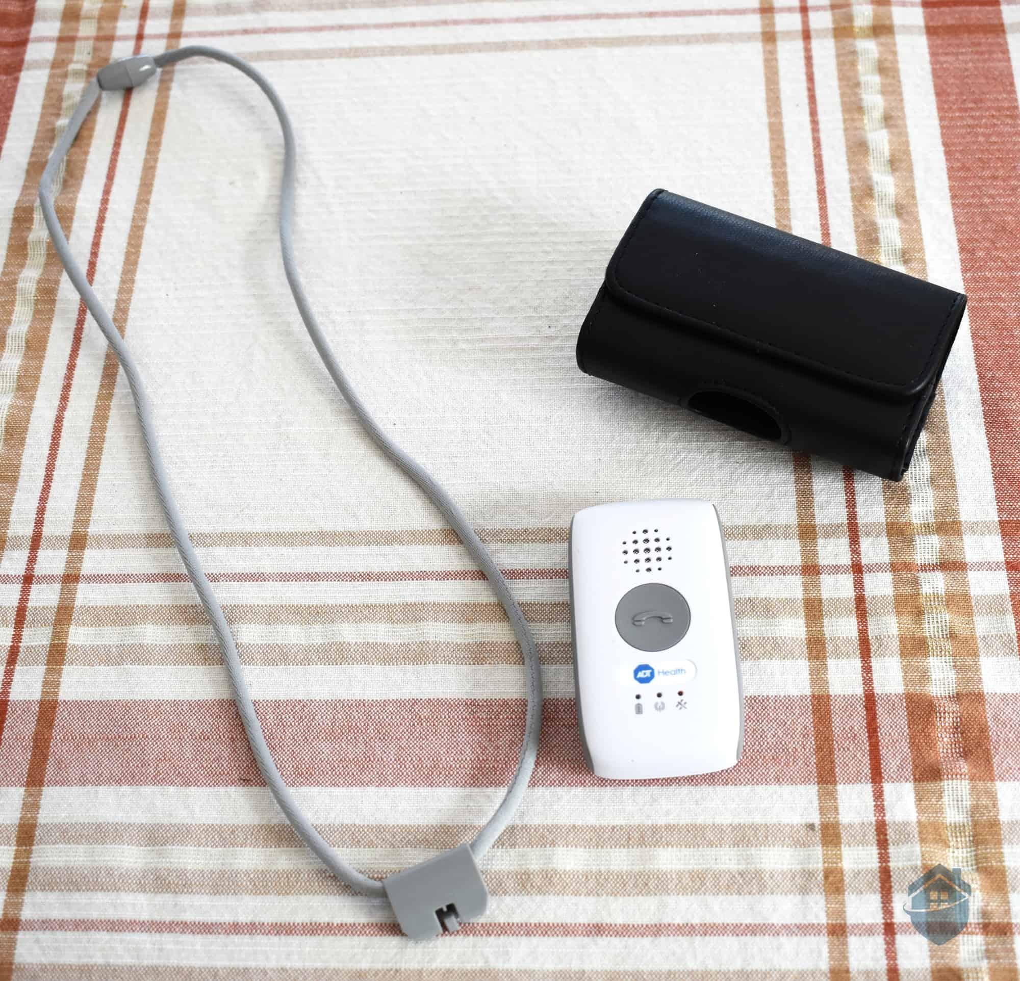 ADT Health Lanyard, Belt Case, and Charging Station