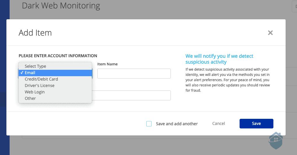 Allstate Dark Web Monitoring