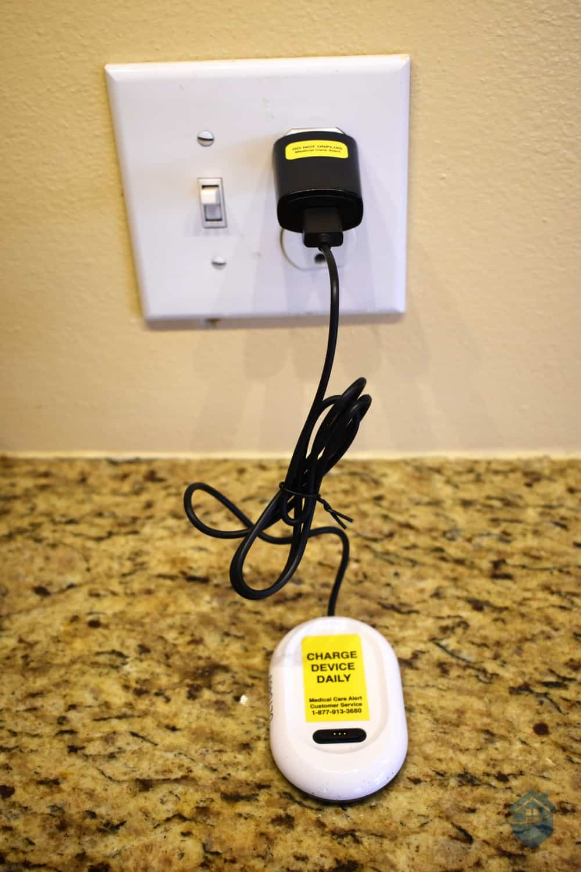 Charging Medical Care Alert