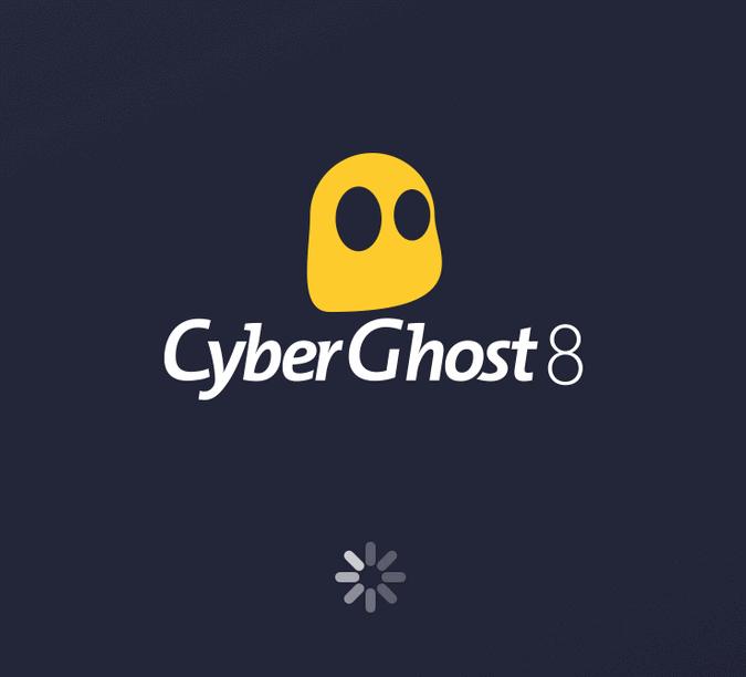 CyberGhost Logo Black