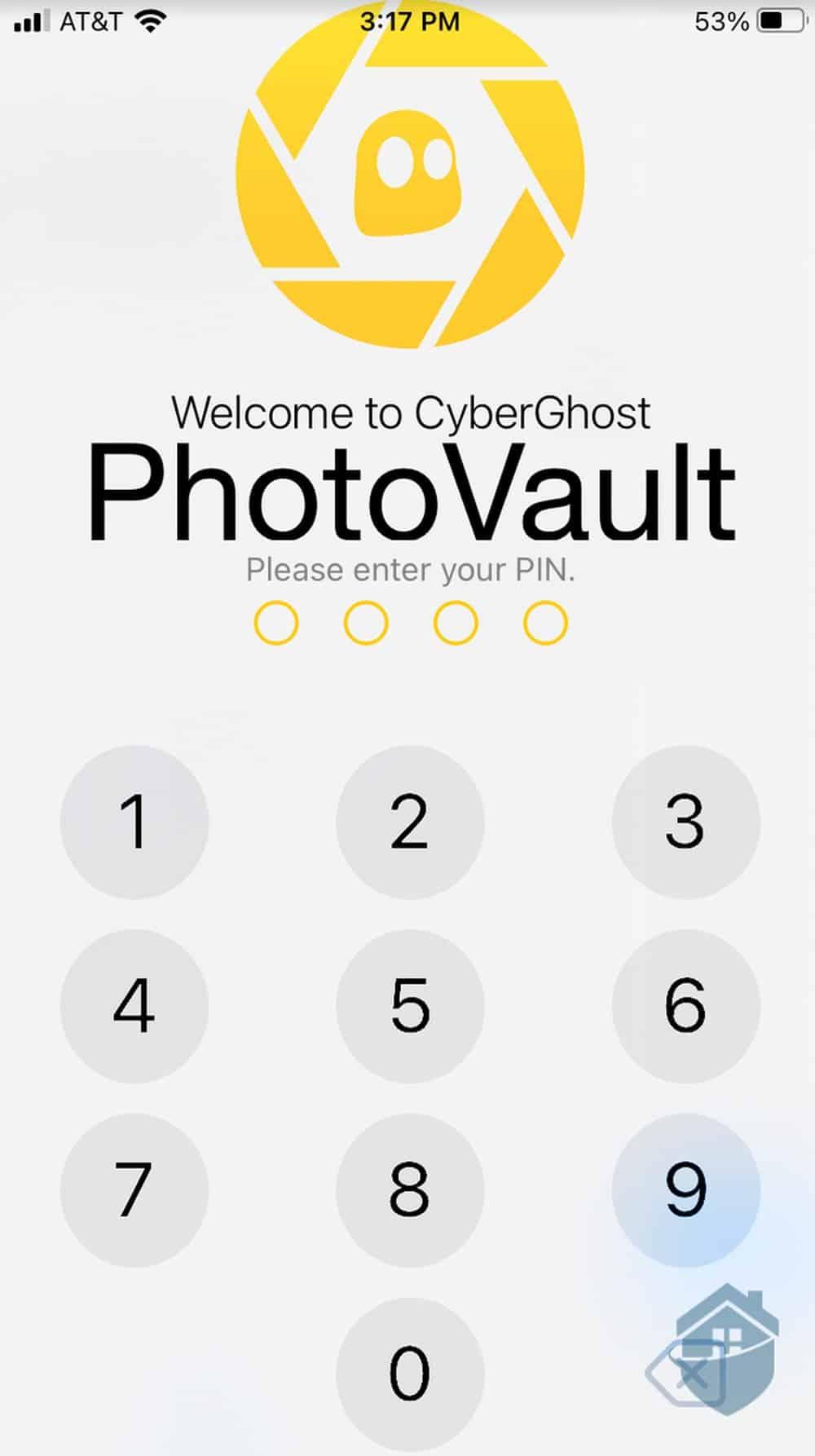 CyberGhost PhotoVault