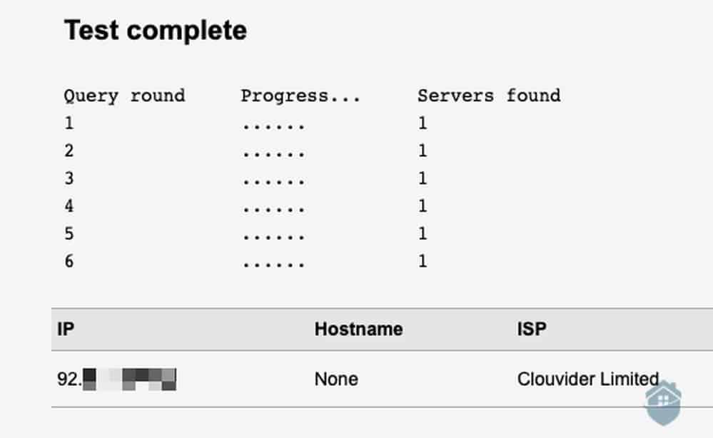 DNS Leak Test for VPN