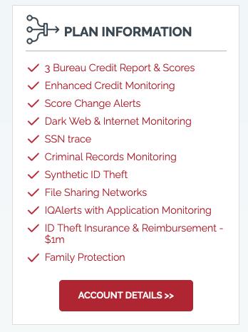 IdentityIQ Plan Information