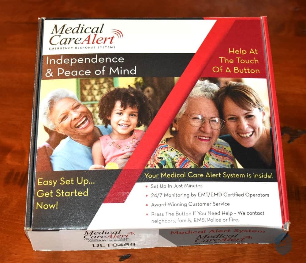 Medical Care Alert Box