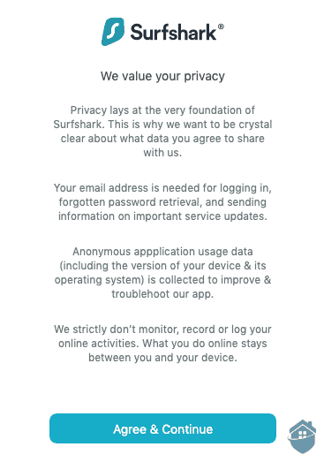 Surfshark Privacy Statement