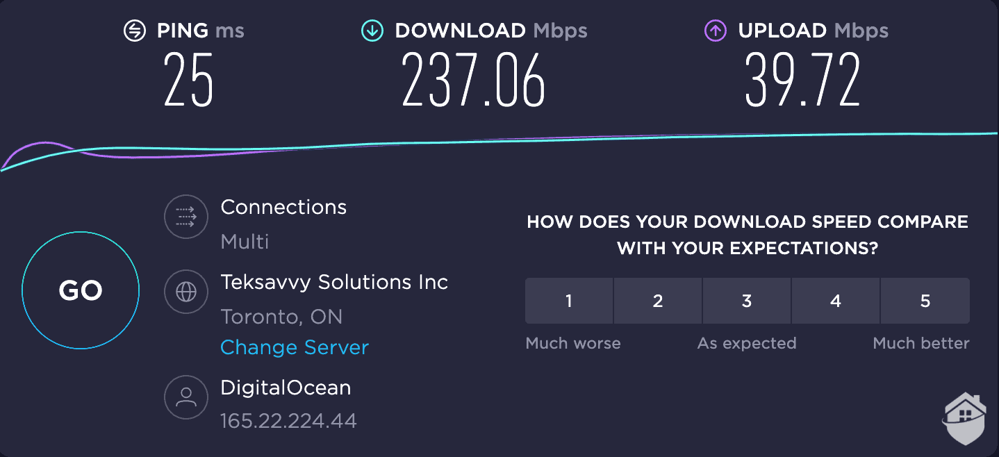 TunnelBear Canada connection