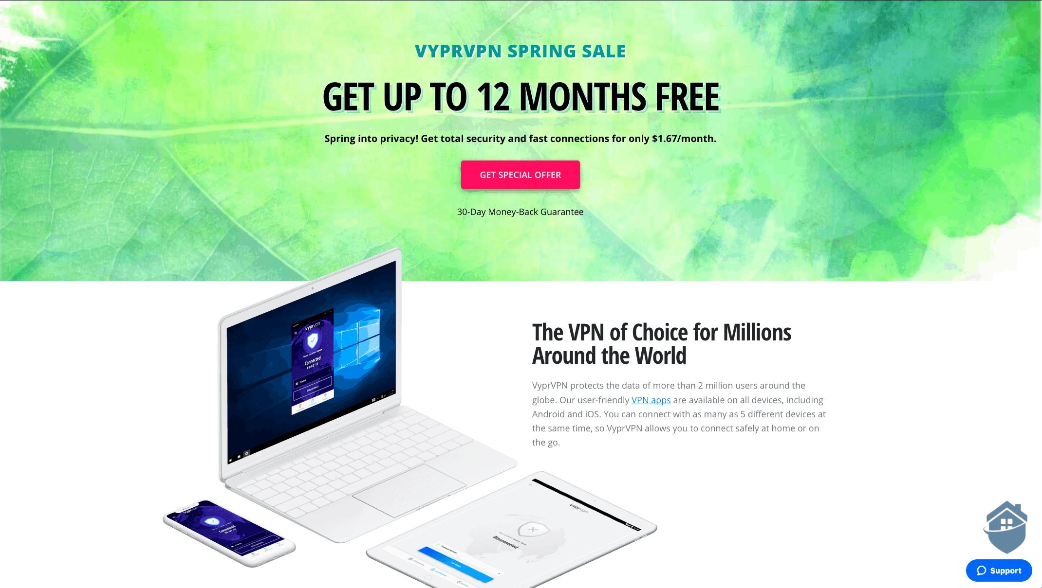 VyprVPN Spring Sale