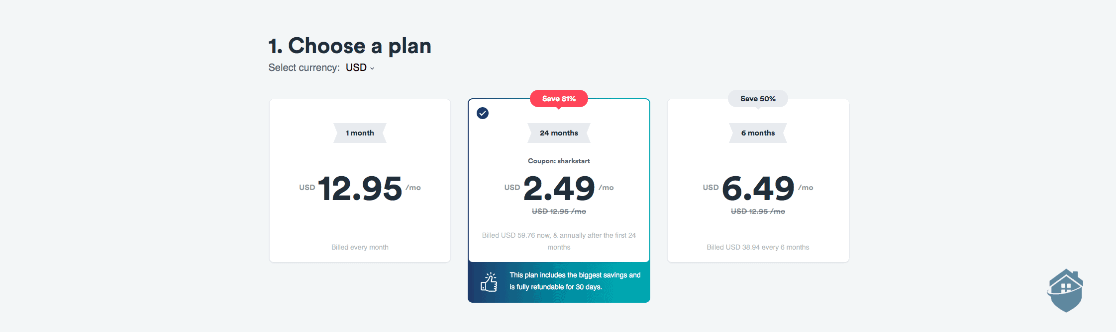 A Surfshark subscription costs only $2.49 per month on the annual plan.