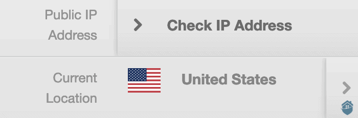 Checking your IP address with VPNSecure is easy.