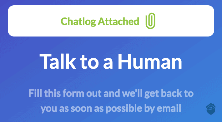 Garry, Windscribe's friendly chatbot, is really nice, but humans are better, even by email.