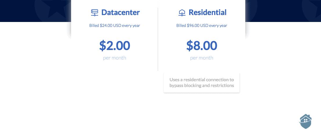 Windscribe Static IP Addresses Pricing