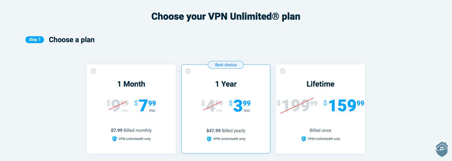 KeepSolid VPN plans
