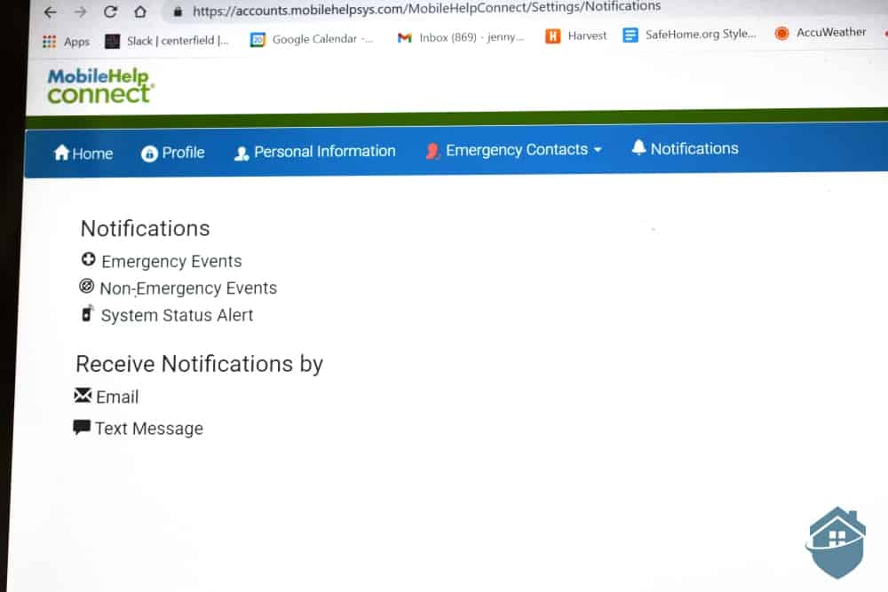 MobileHelp Online Portal