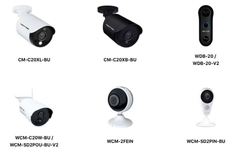 Night Owl Cameras Lineup