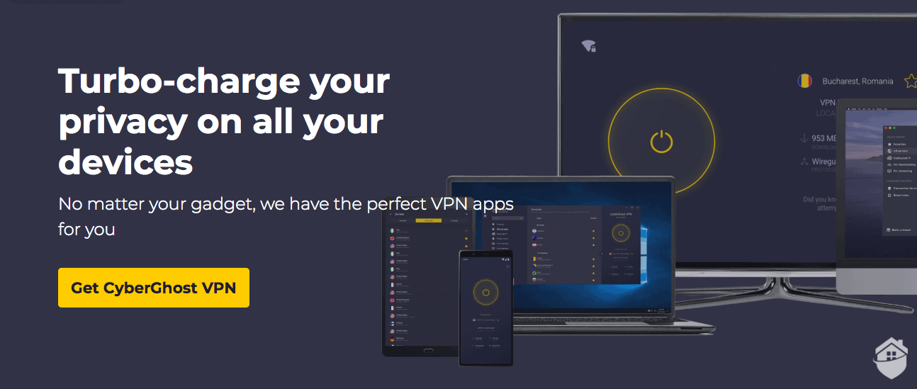 CyberGhost has all the advanced features you need to finetune your online privacy