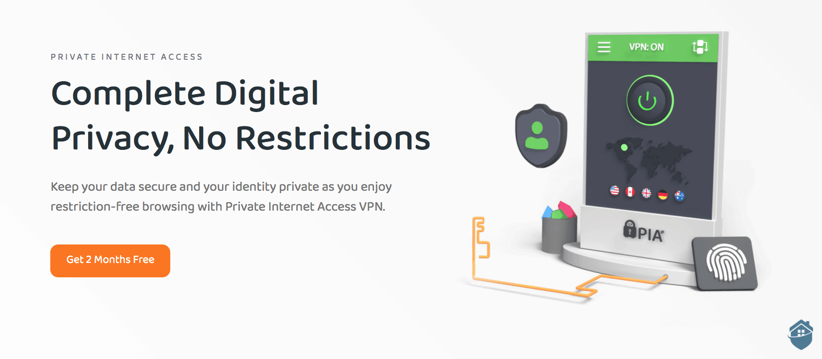 Private Internet Access puts all the VPN tech you want and more at your fingertips