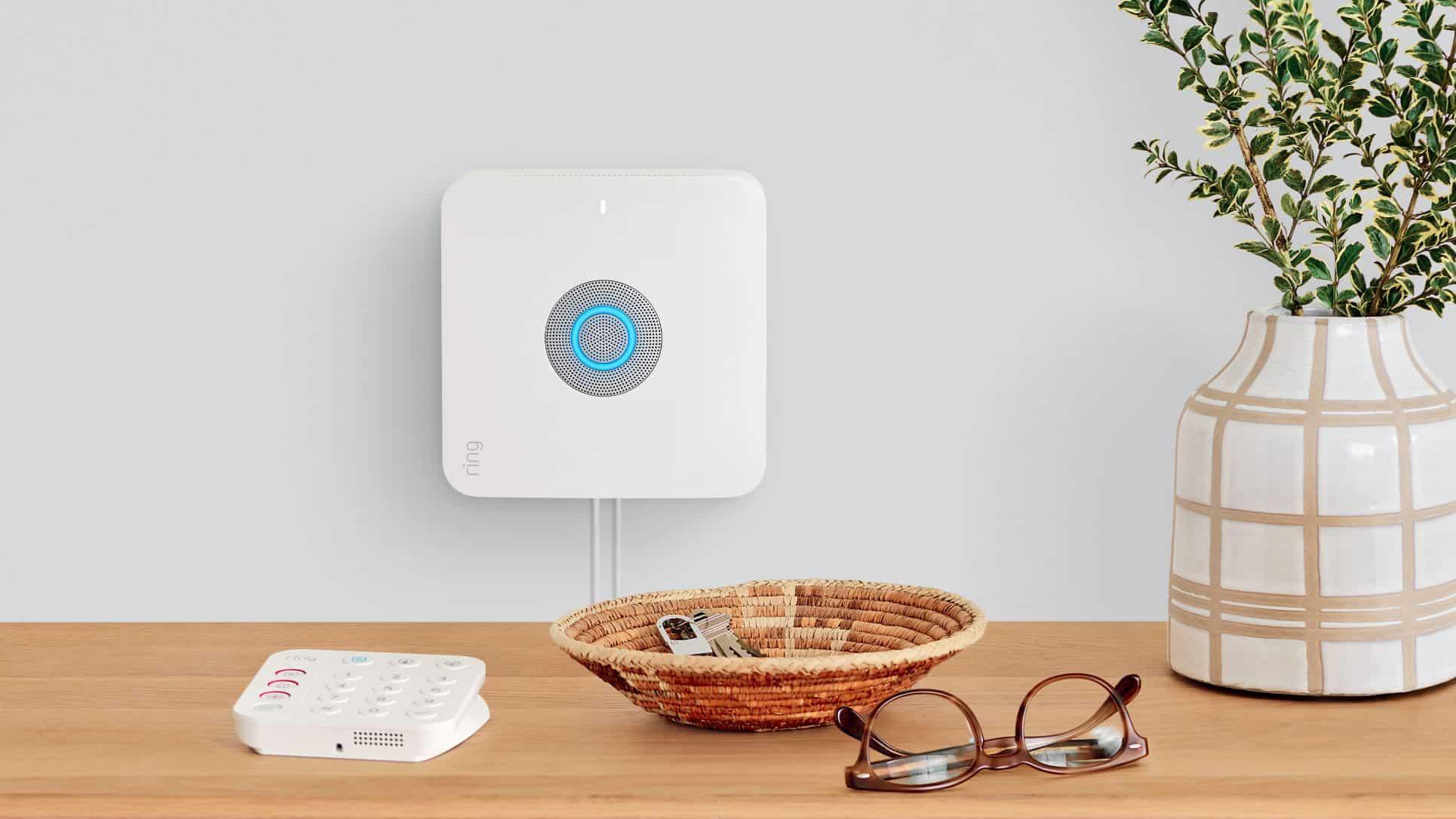 Ring Alarm Pro hub and keypad. (Photo: Ring/Amazon)